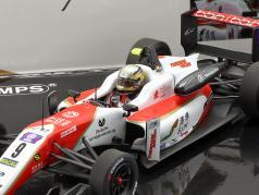 2-Car Set Michael & Mick Schumacher vincitore Macau F3 1990 & 2018 1:43 Minichamps