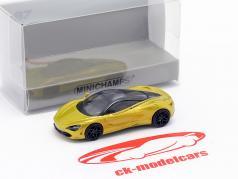 McLaren 720S solis gold 1:87 Minichamps