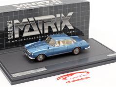Alvis 3-Litre Super Graber Coupe Baujahr 1967 blau metallic 1:43 Matrix
