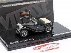 MGTC Cabriolet Year 1945 black 1:43 Vitesse