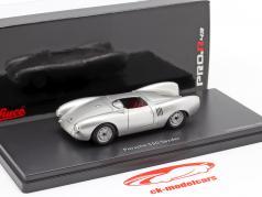Porsche 550 Spyder Byggeår 1954 sølv 1:43 Schuco