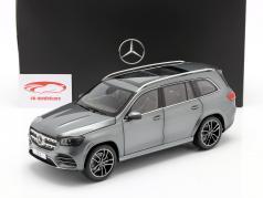 Mercedes-Benz GLS class (X167) year 2019 selenite grey 1:18 Jaditoys