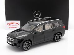 Mercedes-Benz GLS-Klasse (X167) Baujahr 2019 smaragdgrün 1:18 Jaditoys