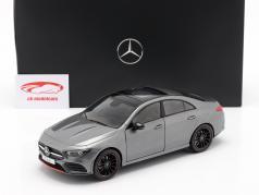 Mercedes-Benz CLA Coupé (C118) year 2019 mountain Gray 1:18 Z-Models
