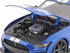 Ford Mustang Shelby an 2020 bleu 1:18 Maisto