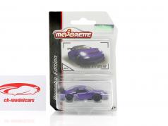 Porsche 911 GT3 RS purple 1:64 Majorette