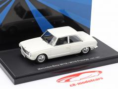 Mercedes-Benz W118 / W119 prototype year 1960 white 1:43 AutoCult