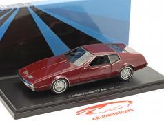 Pontiac Farago CF 428 Baujahr 1969 dunkelrot 1:43 AutoCult