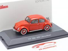 Volkswagen VW Besouro 1600i Ultima Edicion Vermelho alaranjado 1:43 Schuco