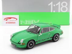Porsche 911 Carrera RS Baujahr 1973 grün / schwarz 1:18 Welly