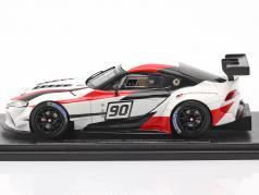 Toyota GR Supra Racing Concept Car #90 Genebra motor mostrar 2018 1:43 Spark