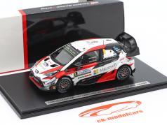 Toyota Yaris WRC #8 gagnant Rallye Argentine 2018 Tänak, Järveoja 1:43 Spark