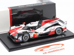 Toyota TS050 Hybrid #7 2e 24h LeMans 2018 lancement version 1:43 Spark