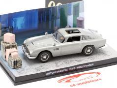 Aston Martin DB5 de James Bond película Goldfinger coche gris 1:43 Ixo