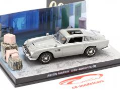 Aston Martin DB5 James Bond movie Goldfinger Car Grey 1:43 Ixo