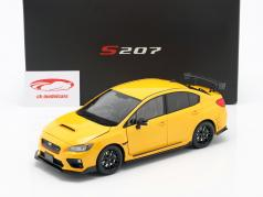 Subaru S207 NBR Challenge Package ano 2015 amarelo 1:18 SunStar