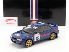 Subaru Impreza 555 #15 3e Rallye Tour de Corse 1996 Massarotto, Bouzat 1:18 SunStar
