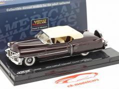Cadillac Eldorado Convertible Closed Top 1953 bordeaux 1:43 Vitesse