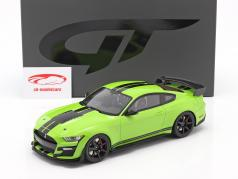 Ford Shelby GT500 Coupe Bouwjaar 2020 Grabber Lime 1:18 GT-Spirit