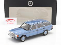 Mercedes-Benz 200 T-Modell (S123) 建设年份 1980-1985 钻石蓝 1:18 Norev