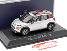 Citroen C3 Aircross year 2017 cosmic silver / orange 1:43 Norev