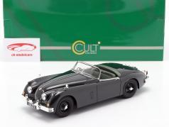 S Jaguar XK150 OTS Roadster green 1:18 Cult Scale Models