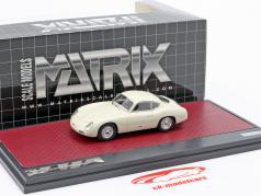 Porsche 356 Zagato Coupe year 1959 white 1:43 Matrix