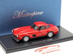 Mercedes-Benz 300 SL Gullwing AMG Flick 1974 red 1:43 AutoCult