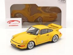 Porsche 911 (964) 3.8 RS year 1990 speed yellow 1:18 Solido