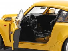 Porsche 911 (964) 3.8 RS Год постройки 1990 скорость желтый 1:18 Solido