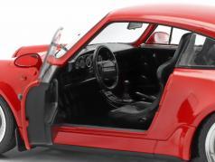 Porsche 911 (964) 3.6 Turbo Ano de construção 1990 guardas vermelho 1:18 Solido