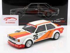 Audi 80 (B2) Gr. 2 #26 第三 500km Vallelunga ETCC 1980 Bergmeister, Nowak 1:18 Premium ClassiXXs