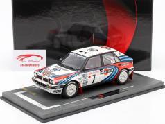 Lancia Delta Integrale HF #7 winnaar Rallye Monte Carlo 1990 Auriol, Occelli 1:18 BBR