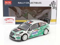 Ford Focus RS WRC #8 4e Rallye du Touquet 2012 Beaubelique, Hugonnot 1:18 SunStar