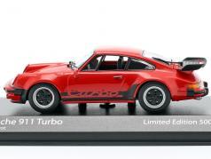 Porsche 911 (930) Turbo 3.3 Baujahr 1979 indischrot 1:43 Minichamps