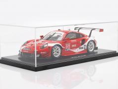 Porsche 911 RSR #911 Coca Cola IMSA campeão 2019 Petit LeMans 1:18 Spark