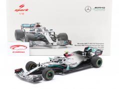 V. Bottas Mercedes-AMG F1 W11 EQ #77 Test Barcelona formula 1 2020 1:18 Spark