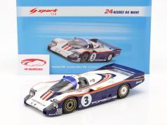 Porsche 956 #3 第三名 24h LeMans 1982 Holbert, Haywood, Barth 1:18 Spark