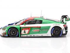 Audi R8 LMS #4 优胜者 24h Nürburgring 2019 Audi Sport Team Phoenix 1:18 Spark