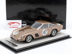 Ferrari 330LMB #47 3rd Bridghampton 1963 Gurney 1:18 Tecnomodel