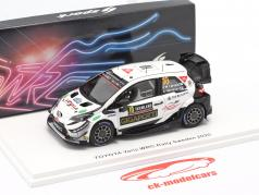 Toyota Yaris WRC #10 Rallye Schweden 2020 Latvala, Hänninen 1:43 Spark