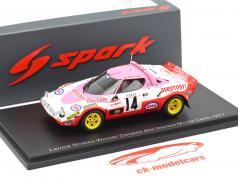 Lancia Stratos #14 vinder Coupes des Dames Rallye Monte Carlo 1977 1:43 Spark