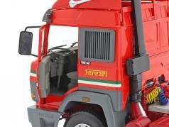 Iveco Turbo Star Scuderia Ferrari un camion Année de construction 1988 rouge 1:18 Road Kings