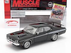 Dodge Demon 340 year 1971 black 1:18 AutoWorld