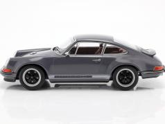 Singer Coupe Porsche 911 修改 深灰色 1:18 KK-Scale