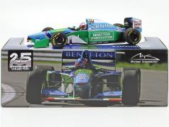 M. Schumacher Benetton B194 #5 vincitore Canada F1 Campione del mondo 1994 1:18 Minichamps