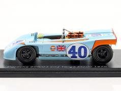 Porsche 908/03 #40 第二名 Targa Florio 1970 Kinnunen, Rodriguez 1:43 Spark
