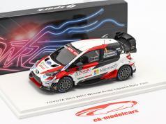 Toyota Yaris WRC #1 vincitore artico Lapponia Rallye 2020 1:43 Spark