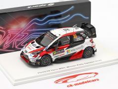 Toyota Yaris WRC #33 Sieger Rallye Schweden 2020 Evans, Martin 1:43 Spark