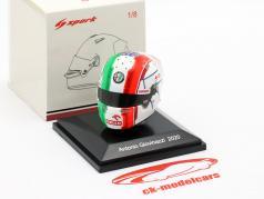Antonio Giovinazzi #99 Alfa Romeo Racing Orlen formule 1 2020 helm 1:8 Spark